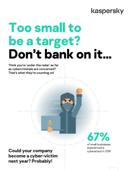 Too small to be a target? Don't bank on it... - Infographic
