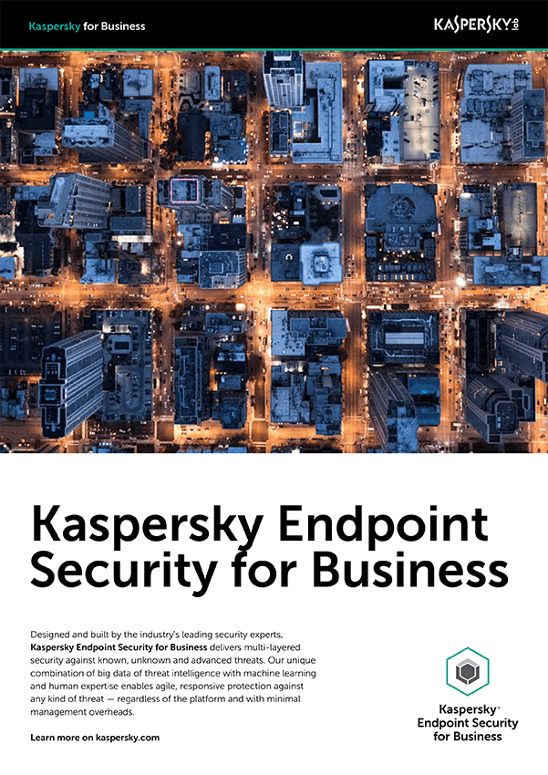 Kaspersky Security for Mobile - صفحة البيانات